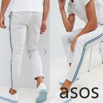 ASOS Stripes Street Style Cotton Skinny Fit Pants