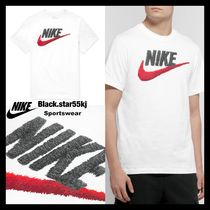 Nike Unisex Cotton Short Sleeves Logos on the Sleeves Polos
