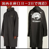 VETEMENTS Unisex Nylon Street Style Long Coats