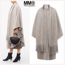 MM6 Maison Margiela Wool Plain Medium Ponchos & Capes