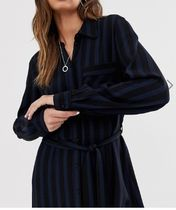 SELECTED Casual Style Maxi Long Sleeves Dresses