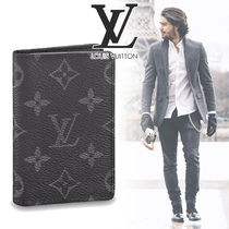 Louis Vuitton MONOGRAM Other Check Patterns Canvas Street Style Folding Wallets