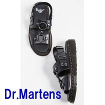 Dr Martens Casual Style Unisex Blended Fabrics Street Style Plain