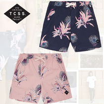 TCSS Flower Patterns Tropical Patterns Street Style Beachwear