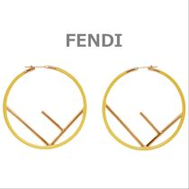 FENDI Casual Style Earrings & Piercings