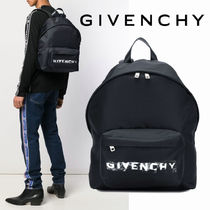 GIVENCHY Unisex Nylon Backpacks