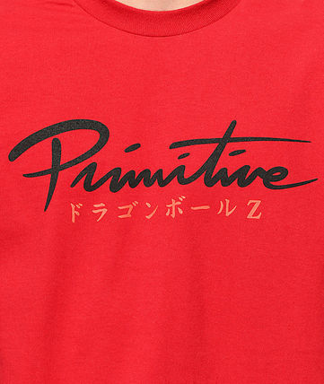 Primitive Long Sleeve Crew Neck Pullovers Street Style Collaboration Long Sleeves 3