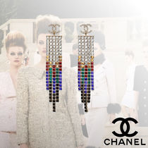 CHANEL Tassel With Jewels Elegant Style Fine