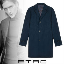 ETRO Street Style Long Chester Coats