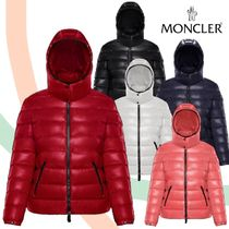MONCLER BADY Short Nylon Plain Down Jackets