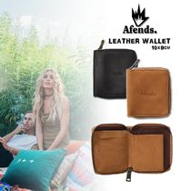 AFENDS Street Style Plain Folding Wallets