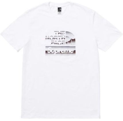 Supreme More T-Shirts Unisex Street Style U-Neck Collaboration Cotton 2