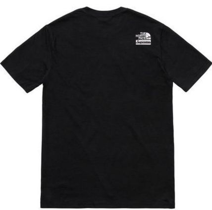Supreme More T-Shirts Unisex Street Style U-Neck Collaboration Cotton 5