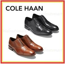Cole Haan Straight Tip Plain Leather Oxfords