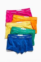 Calvin Klein Plain Cotton Boxer Briefs