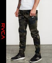 RVCA Camouflage Street Style Joggers & Sweatpants