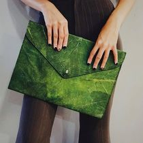 THAMON Faux Fur Blended Fabrics Office Style Clutches
