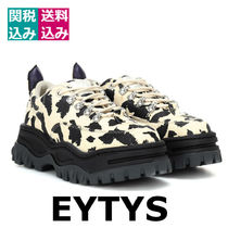 Eytys Plain Toe Rubber Sole Casual Style Other Animal Patterns