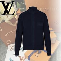 Louis Vuitton Wool Long Sleeves Tops