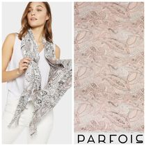 PARFOIS Paisley Casual Style Lightweight Scarves & Shawls