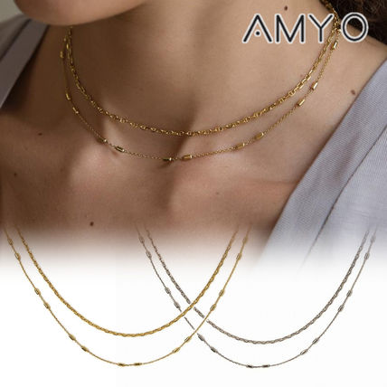 Chain Handmade 14K Gold Elegant Style Necklaces & Pendants