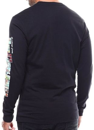 HUF More T-Shirts Street Style U-Neck Long Sleeves Long Sleeve T-shirt 2