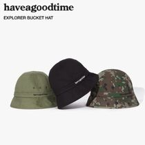 have a good time Unisex Street Style Bucket Hats Wide-brimmed Hats