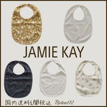 JAMIE KAY Organic Cotton Baby Girl Bibs & Burp Cloths