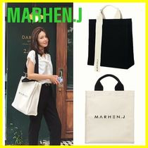 MARHEN.J Canvas Plain Shoppers