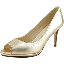 Cole Haan Open Toe Party Style Peep Toe Pumps & Mules