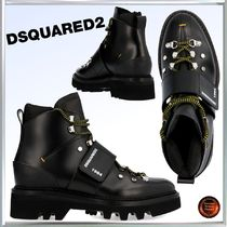 D SQUARED2 Leather Engineer Boots