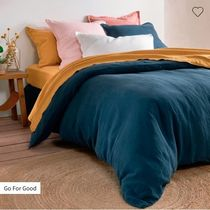 LA Redoute Plain Pillowcases Comforter Covers Flat Sheets Co-ord