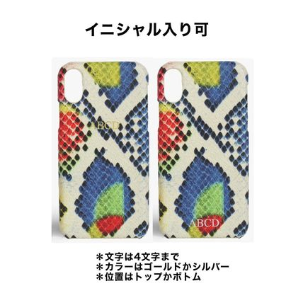 Plain Other Animal Patterns Leather Handmade iPhone X