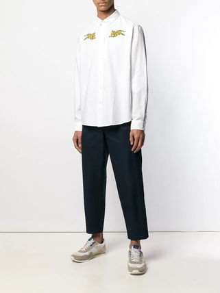 KENZO Shirts Button-down Street Style Long Sleeves Other Animal Patterns 2
