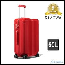 RIMOWA ESSENTIAL Unisex 3-5 Days Soft Type TSA Lock Luggage & Travel Bags