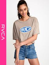 RVCA Street Style Short Sleeves T-Shirts