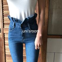 Denim Plain Medium Skinny Jeans