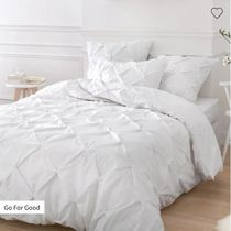 LA Redoute Plain Pillowcases Comforter Covers Co-ord Duvet Covers
