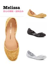 Melissa Casual Style Plain PVC Clothing Flats