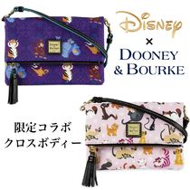 Disney Casual Style Blended Fabrics Collaboration Leather