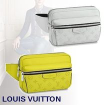 Louis Vuitton BUMBAG Monogram Blended Fabrics Leather Bags
