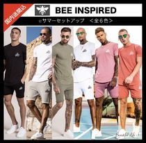 Bee Inspired Clothing Khaki Top-bottom sets