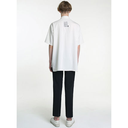 Shirts Unisex Street Style Plain Short Sleeves Oversized Logo 9