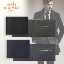 HERMES Calfskin Folding Wallets