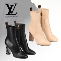 Louis Vuitton Elegant Style High Heel Boots