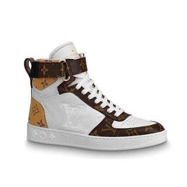 Louis Vuitton Low-Top 2019-20AW BOOMBOX SNEAKER BOOT white×brown blue×pink shoes 3