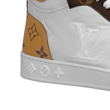 Louis Vuitton Low-Top 2019-20AW BOOMBOX SNEAKER BOOT white×brown blue×pink shoes 4