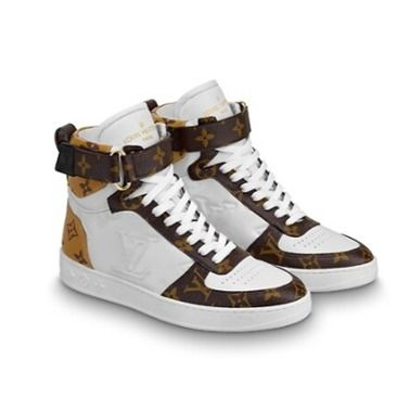 Louis Vuitton Low-Top 2019-20AW BOOMBOX SNEAKER BOOT white×brown blue×pink shoes 5
