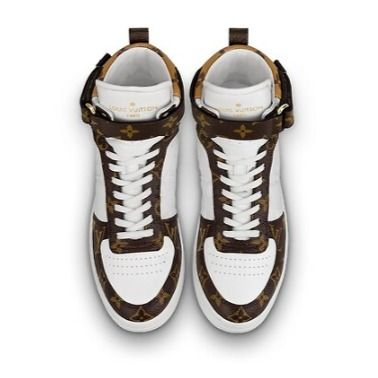 Louis Vuitton Low-Top 2019-20AW BOOMBOX SNEAKER BOOT white×brown blue×pink shoes 6