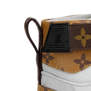 Louis Vuitton Low-Top 2019-20AW BOOMBOX SNEAKER BOOT white×brown blue×pink shoes 7